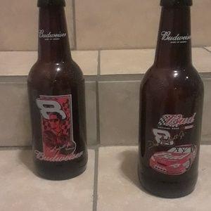 Dale Earnhardt Jr Nascar Bud Bottles